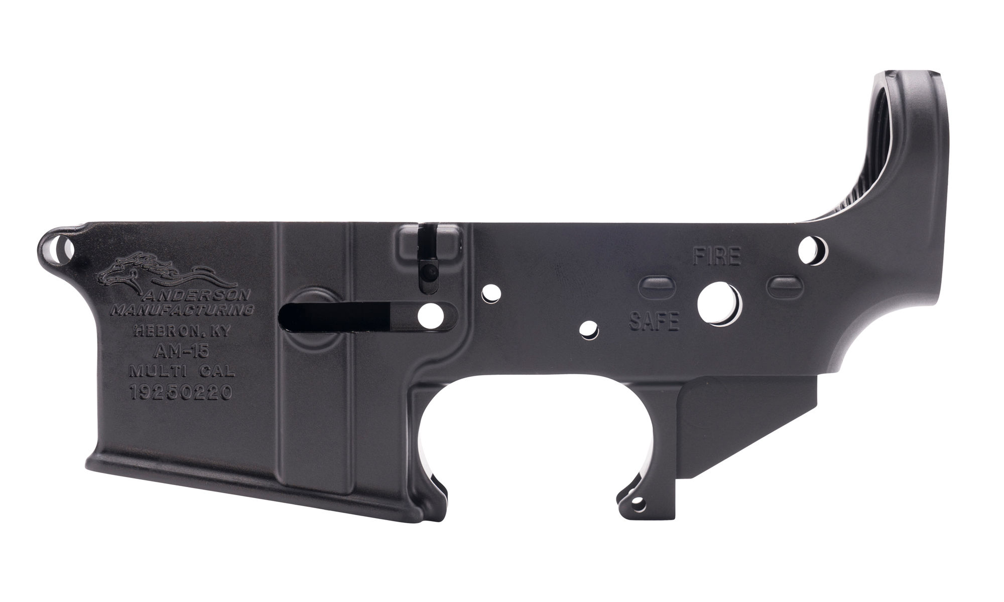 Anderson Manufacturing AM-15 Stripped Lower Receiver