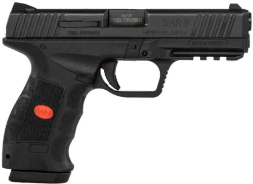 "SAR9, 9mm Pistol, 4.4"" Barrel, 17+1 Rounds NEW $419"