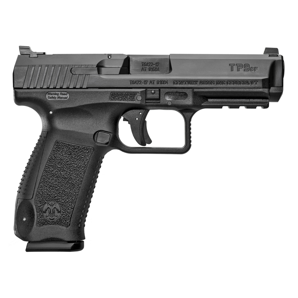 "CANIK TP9SF 9MM 4.46"" BARREL 18-ROUNDS WARREN TACTICAL SIGHTS"