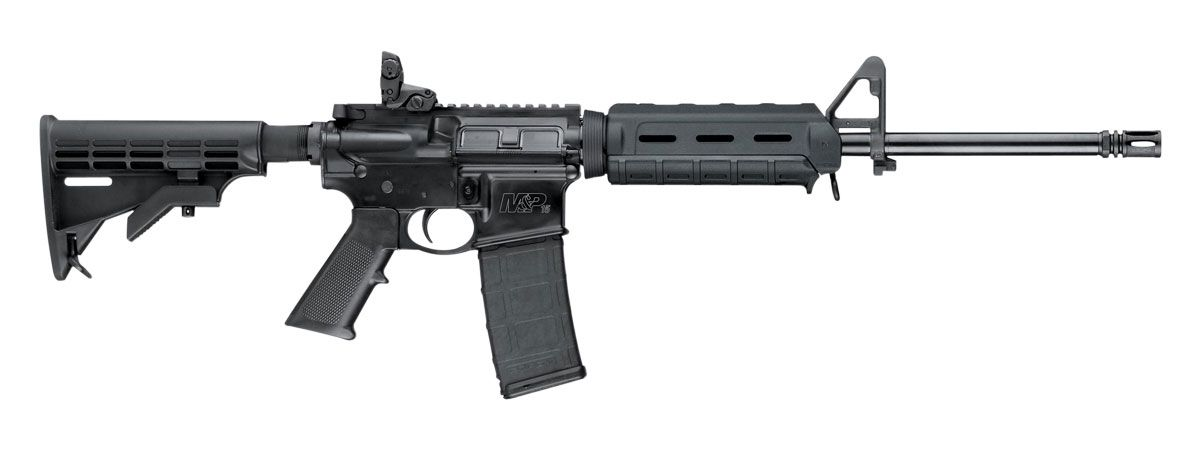 S&W M&P 15 SPORT II WITH MAGPUL M-LOK HANDGUARD, BLACK