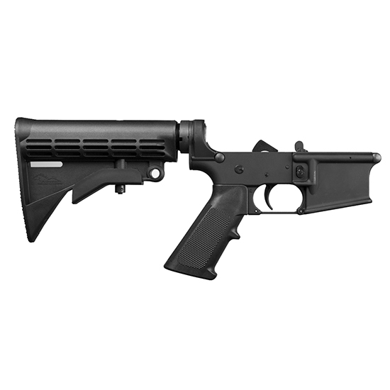 Anderson complete AR-15 lower receiver with stock