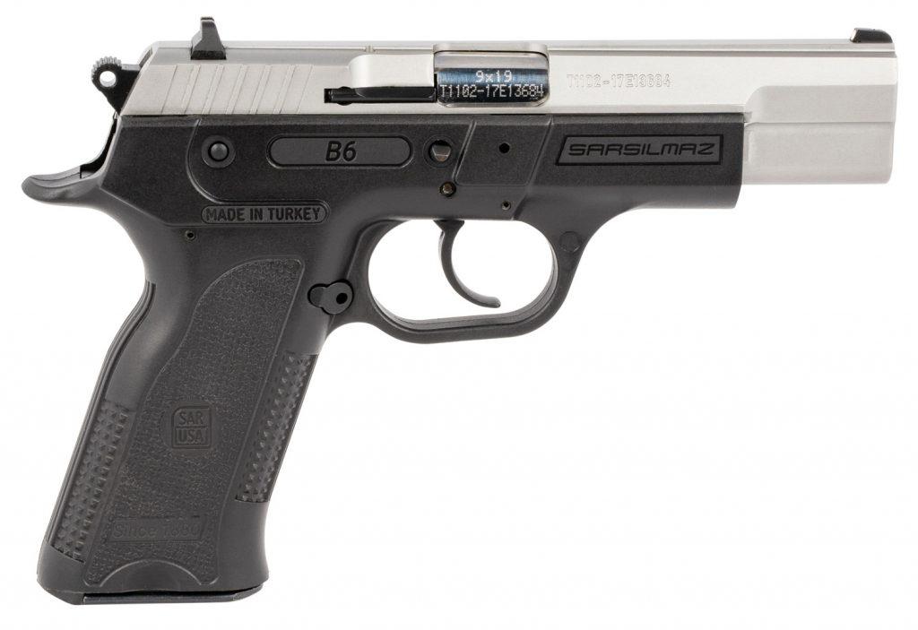 Sarsilmaz B6 Stainless Pistol