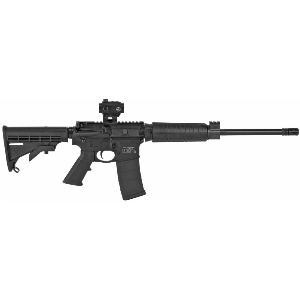 SMITH AND WESSON M&P 15 SPORT II WITH CRIMSON TRACE RED/GREEN DOT SIGHT 5.56/.223 REM 16-INCH 30RDS