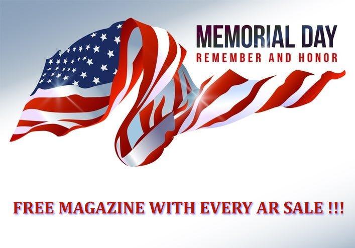 FREE MAGAZINE MEMORIAL DAY SALE